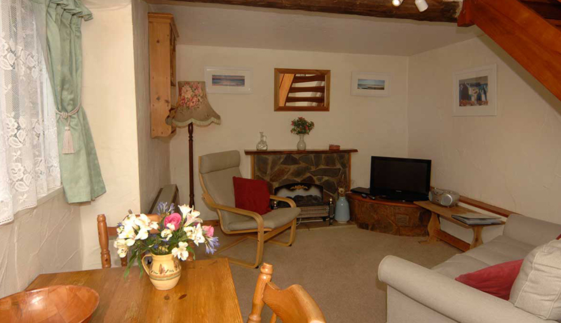 Forge Self Catering Cottage: Living Room