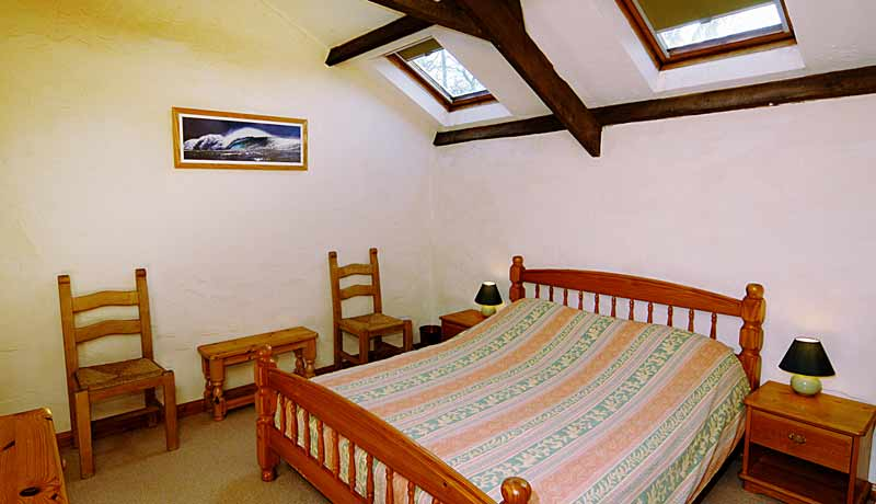 Double Bedroom at Millers Self Catering Cottage