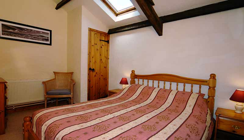 The Double Bedroom at Potters Self Catering Cottage