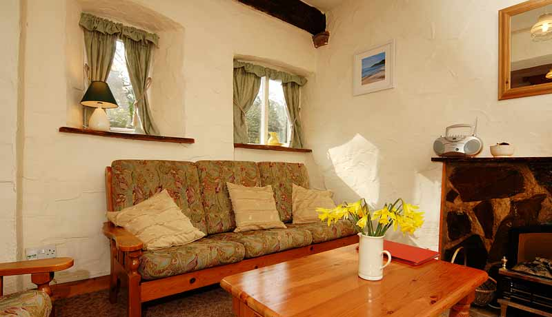 Potters Holiday Cottage Living Room