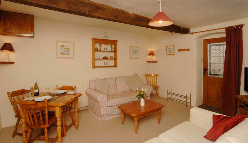 Saddlers Holiday Cottage Living Room
