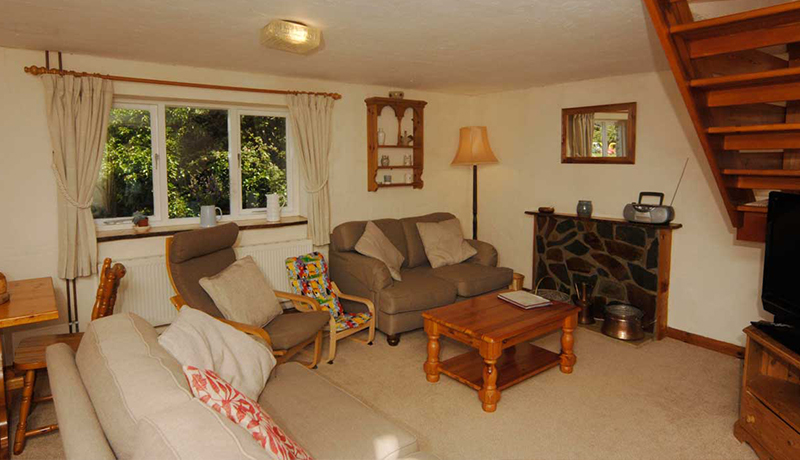 The Living Room at Thatchers: Self Catering Cottage