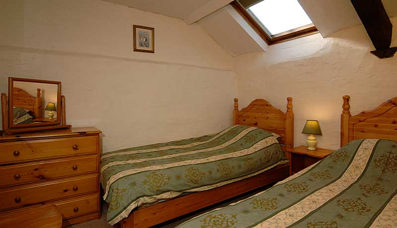 Wheelwrights Self Catering Cottage: second Twin Room