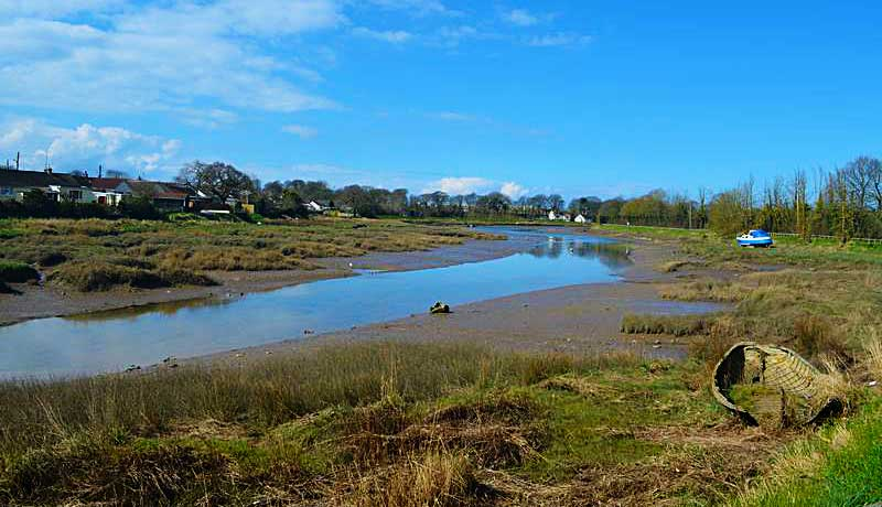 The Estuary near Muddlebridge House Self Catering Cottages