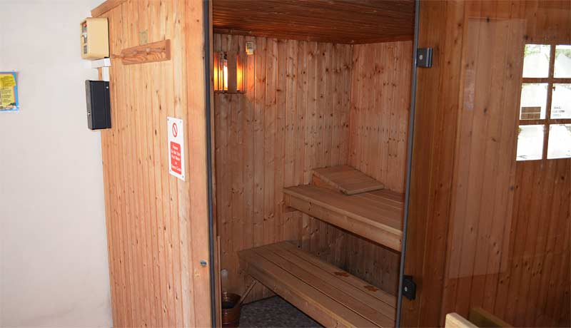 Private Sauna at Muddlebridge House