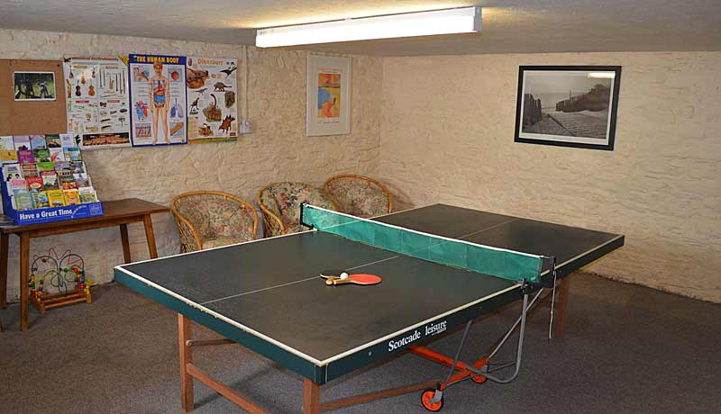 Table Tennis at Muddlebridge House